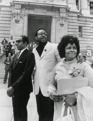 Marvin With His Parents