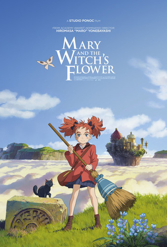 Mary and the Witch's blume Hintergrund entitled Mary and the Witch's blume Poster