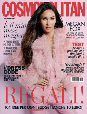 Megan zorro, fox ~ Cosmopolitan (Italy) ~ December 2017