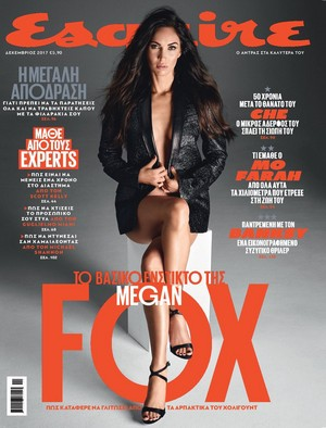 Megan zorro, fox ~ Esquire (Russia) ~ December 2017