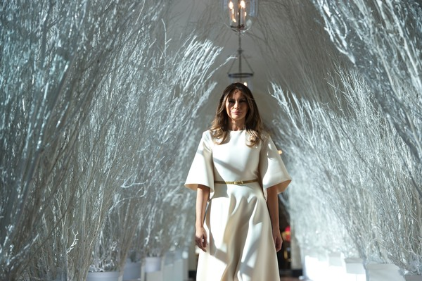 melania trump images melania previews white house christmas decorations november 27 2017 wallpaper and background photos - 2017 White House Christmas Decorations