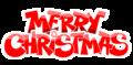 Merry クリスマス (Logo)