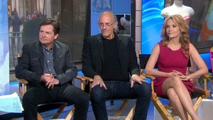 Michael J. renard Christopher Lloyd and Lea Thompson