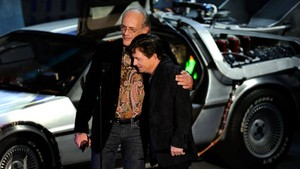 Michael J. fox and Christopher Lloyd Reunite for Toyota Commercial