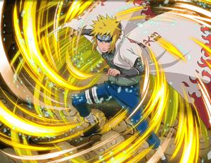 Minato Namikaze Rapid Lightning 1