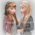 Modern Anna and Elsa