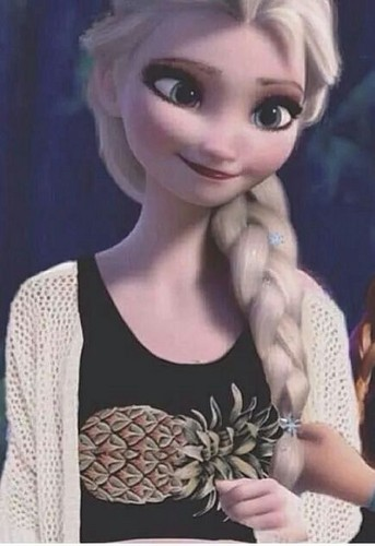 Modern Disney Princess wallpaper called Modern Elsa