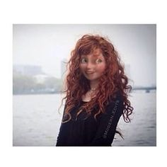 Modern Disney Princess پیپر وال entitled Modern Merida