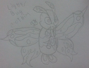 Mothim New Form
