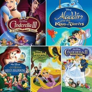 My oben, nach oben 5 Favorit Disney Princess Sequels