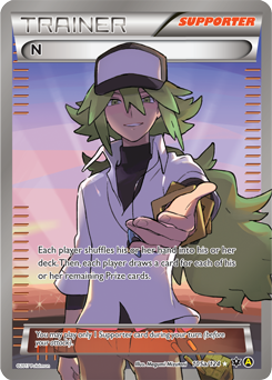 N Harmonia Card (Premium Trainer's X&Y Collection)