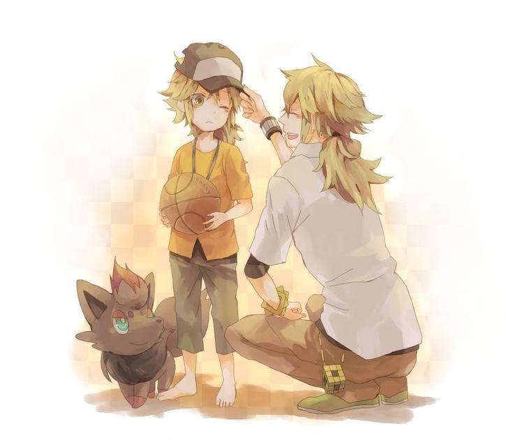 N, Little N, and Zorua