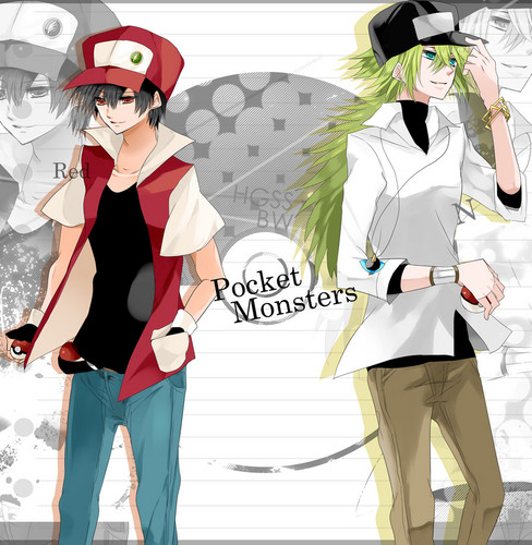 Pokemon Guys wallpaper called N and Red