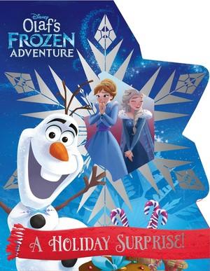Olaf's Frozen - Uma Aventura Congelante Adventure Book Covers