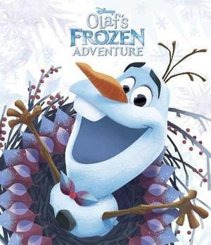 Olaf's Холодное сердце Adventure Book Covers