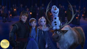 Olaf's 《冰雪奇缘》 Adventure New Stills