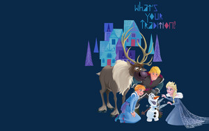Olaf's Frozen Adventure wallpaper