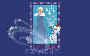 Olaf's Frozen Adventure پیپر وال