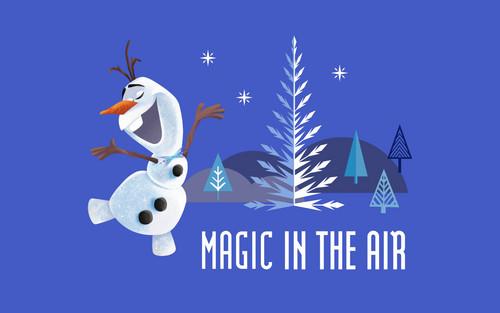 Frozen wallpaper called Olaf's Frozen Adventure wallpaper