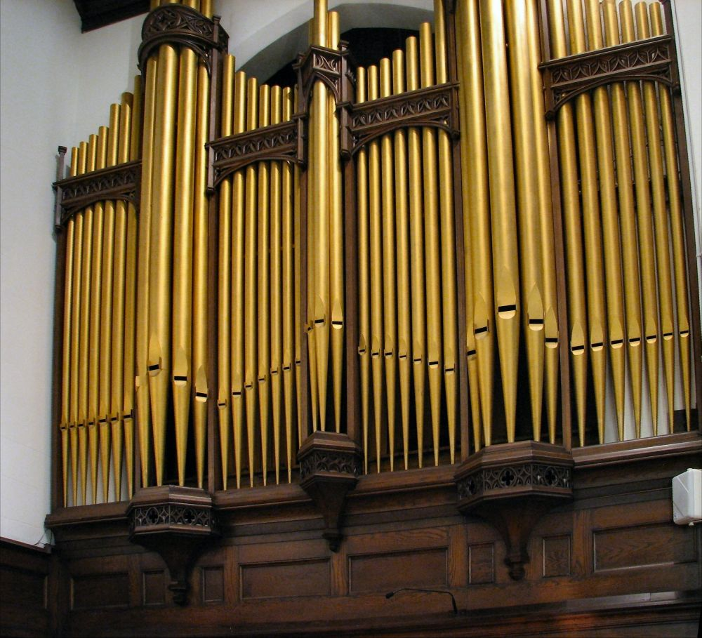 the music instrument the organ Though the use of mechanical instruments of music in worship are common in both the catholic and protestant communities of christendom,  most people do not realize that this function was unknown to the churches of the apostolic age.