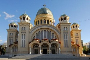 Orthodox Church In Greece (Exterior)
