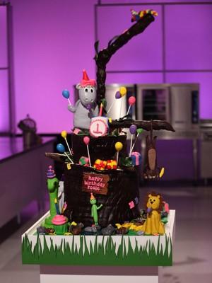 Party mga hayop Cake