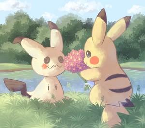Pikachu X Mimikyu
