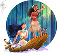 Pocahontas and Moana  - pocahontas photo