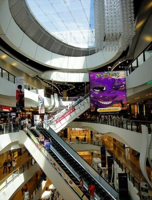 Pokemon Mega in the Mall