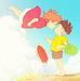 Ponyo on the Cliff by the Sea icon - hayao-miyazaki icon