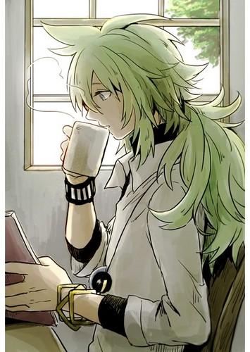 N(pokemon) kertas dinding titled Prince N Drinking some Hot koko