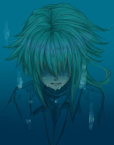 N(pokemon) kertas dinding titled Prince N Harmonia Crying
