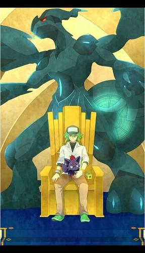 N(pokemon) kertas dinding called Prince N, The Hero of Ideals