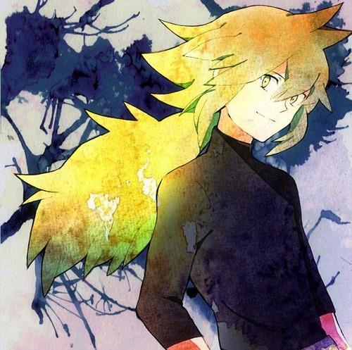N(pokemon) kertas dinding titled Prince N Wearing his Black baju