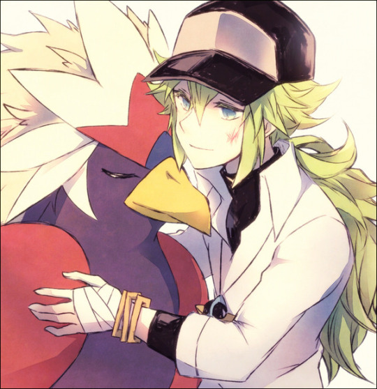Prince N and a Braviary