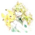 Prince N and a Pikachu
