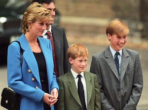 Prince William, Princess  Diana