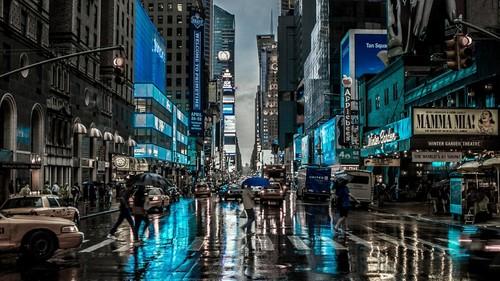 JosepineJackson Wallpaper Entitled Rainy Day In New York City