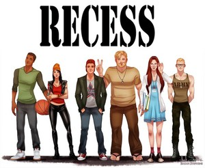 Recess kids all growned up