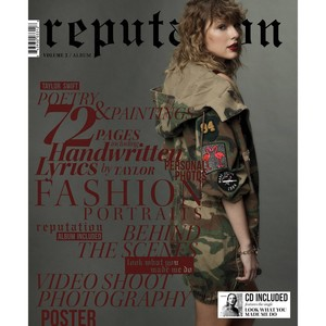 Reputation CD Target Exclusive Magazine