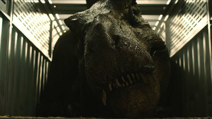 Rexy in Fallen Kingdom