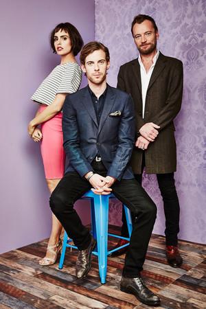 Richard Dormer with Verónica Echegui and Luke Treadaway Photoshoot