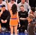 Rob at a NY Knicks basketball game - robert-pattinson photo