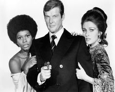 Roger Moore And His Two LALD Co-Stars