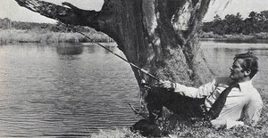 Roger Moore Fishing