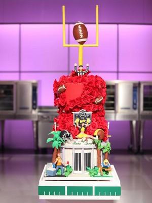 Rose Bowl Cake