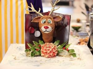 Rudolph Card for Santa