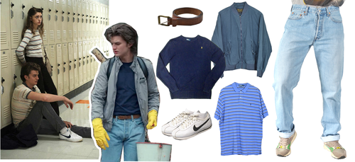 Stranger Things 壁紙 titled STEVE HARRINGTON Style | Lookbook