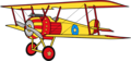 Sally Swing's Biplane Anime Render - betty-boop photo