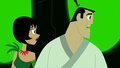 Samurai Jack and Ashi